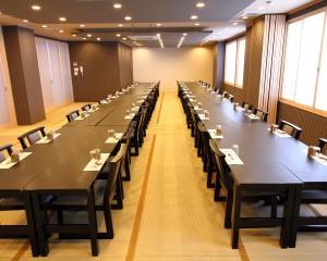 3階大広間:テーブル正面