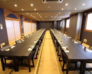2階大広間:テーブル