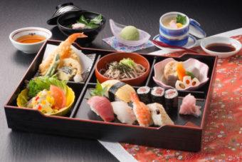 寿司定食 桜