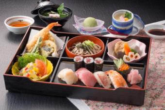 寿司定食 藤