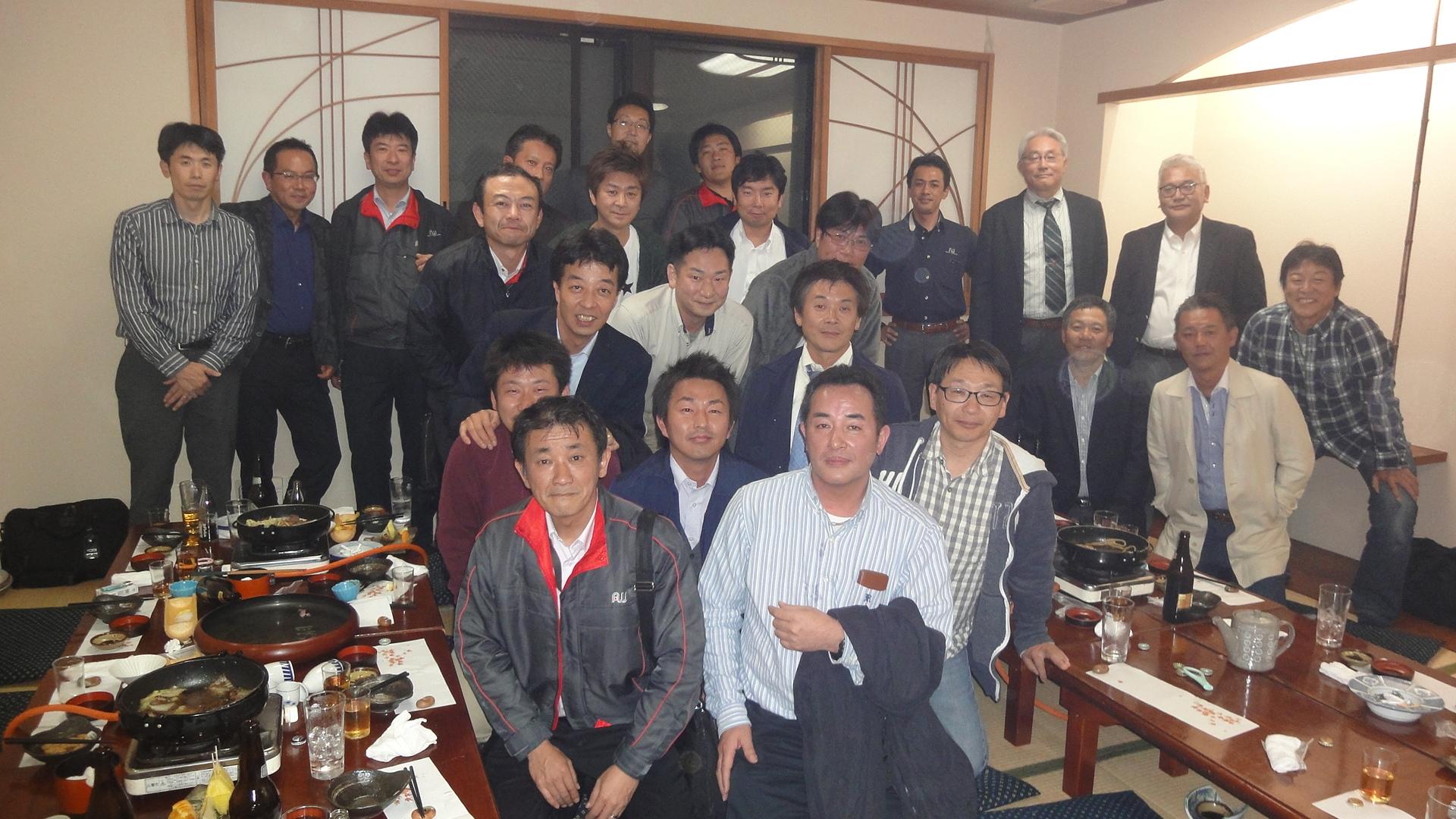 オーギヤグループの忘年会(安城市で宴会・法事・仕出し弁当は今寿司)
